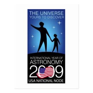 IYA2009 - US Node: Postcard