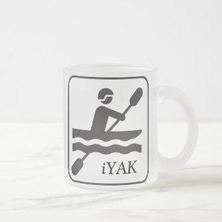 iYAK BAK, taza Kayaking de los YACS de YAKity del