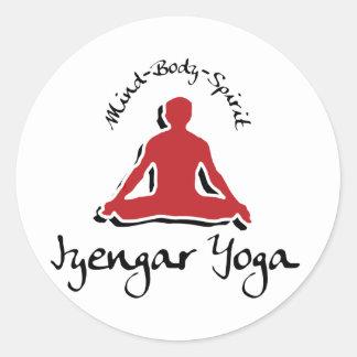 Iyengar Yoga Classic Round Sticker