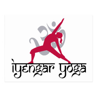 Iyengar Yoga Pose Postcards