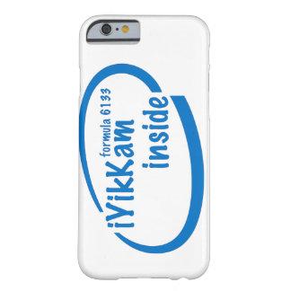 iYikKam inside blue iPhone 6 case