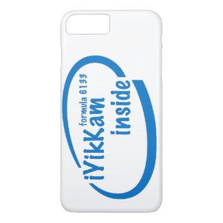 iYikKam inside blue iPhone 7+ case