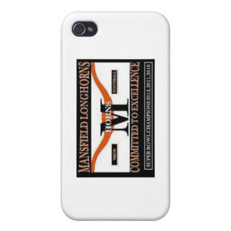 Iyso Mansfield Longhorns Under 12 Case For iPhone 4