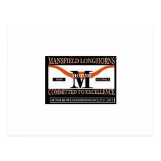 Iyso Mansfield Longhorns Under 12 Postcard