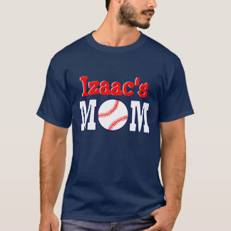 IZAAC'S MOM BASEBALL TEE