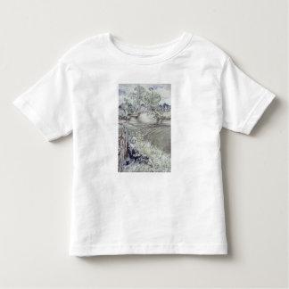 Izaak Walton reclining against a Fence Toddler T-shirt