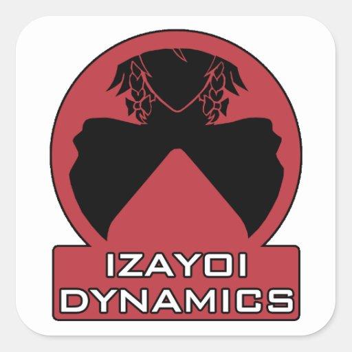 Izayoi Dynamics Logo with Text Sticker