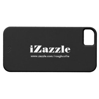 iZazzle, custom to promote your zazzle store black iPhone 5 Covers