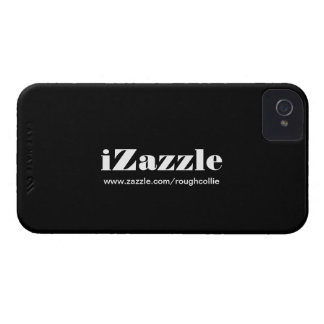iZazzle, personalizado para promover su negro de Case-Mate iPhone 4 Carcasas