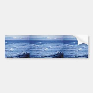 Izembek Ocean Landscape Car Bumper Sticker