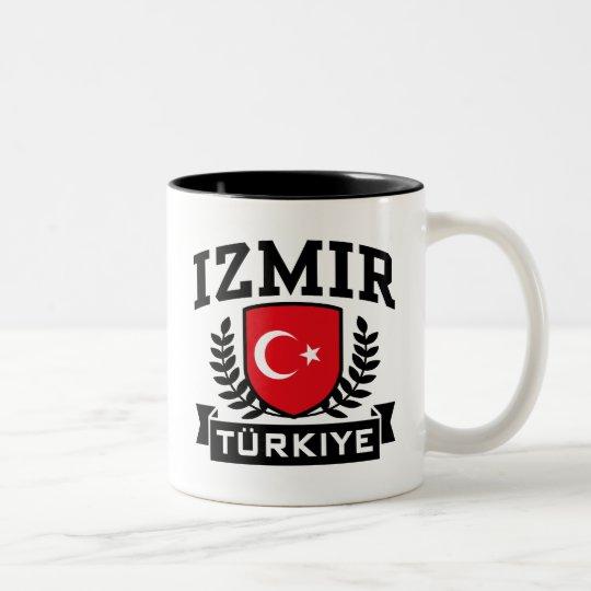Izmir Turkiye Two-Tone Coffee Mug