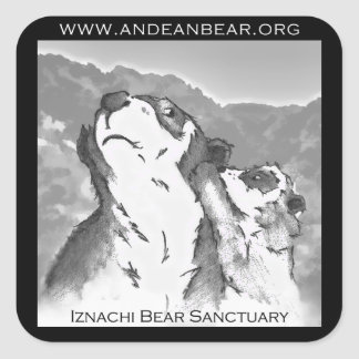 Iznachi Bear Sanctuary Sticker