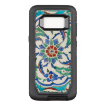 iznik ceramic tile from Topkapi palace OtterBox Defender Samsung Galaxy S8 Case