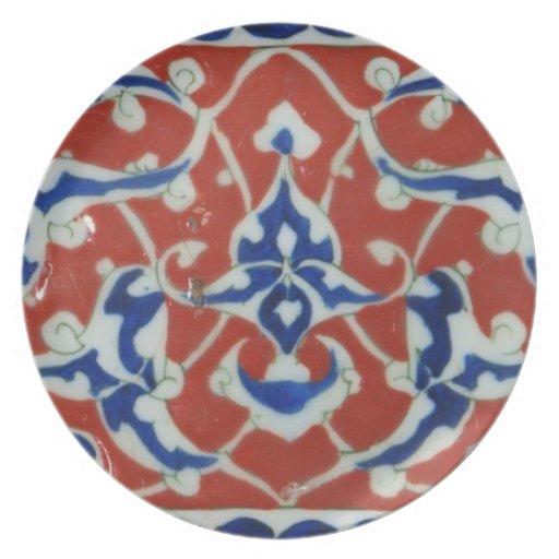 Iznik ceramics  - beautiful art of the Ottomans Party Plates