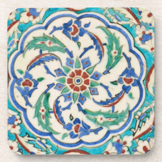 iznik ceramics coaster