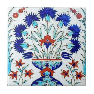 Iznik ceramics small square tile