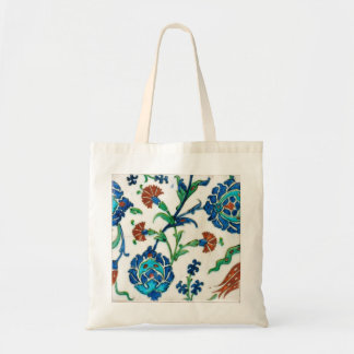 iznik ceramics tote bag