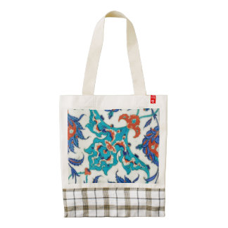 iznik ceramics zazzle HEART tote bag