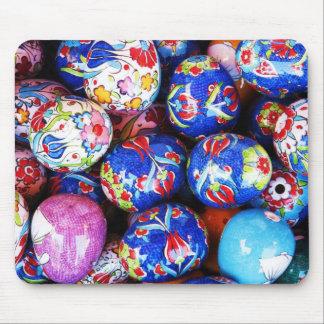 Iznik Design Ceramic Eggs Mouse Pad