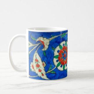 iznik tile coffee mug