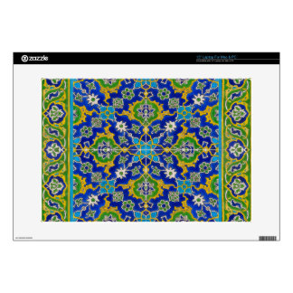 "iznik tile decal for 15"" laptop"