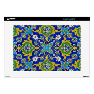 iznik tile laptop skin