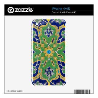 iznik tile skins for iPhone 4