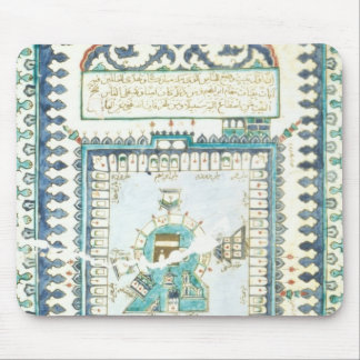 Iznik tile with a representation of Mecca Mouse Pad