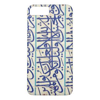 Iznik tiles with islamic calligraphy iPhone 7 plus case