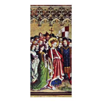 Izquierda de tres reyes Altar Inside The: Santa Ur Plantilla De Lona