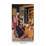 Izquierda del altar de Lukas dentro Postal