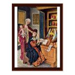 Izquierda del altar de Lukas dentro Tarjetas Postales