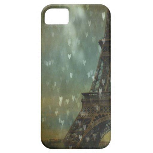 Izquierda mi corazón en la casamata de París iPhone 5 Case-Mate Cárcasa