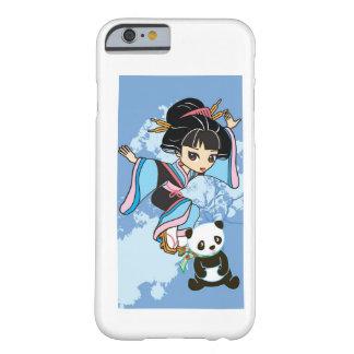 Izumi the Cartoon Kawaii Geisha Chibi Girl & Panda iPhone 6 Case