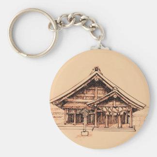 Izumo-Taisha Basic Round Button Keychain