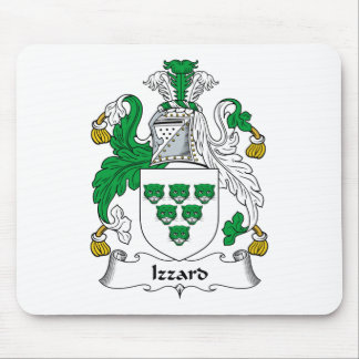 Izzard Family Crest Mouse Pad