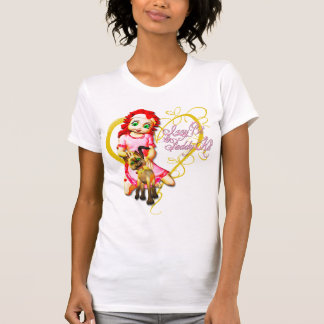 Izzy y arroz - camiseta