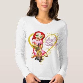 Izzy y arroz - camiseta camisas