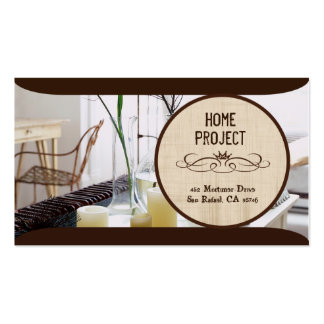 Izzy's Home Project Business Card