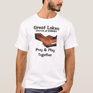 j0227529White, Great Lakes, Church of CHRIST, P... T-Shirt