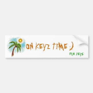 j0382594, ON KEYZ TIME :), FLA KEYS Bumper Sticker