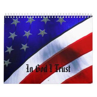 j0400756, In God I Trust Calendar