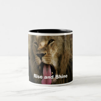 j0403843, Rise and Shine Two-Tone Coffee Mug