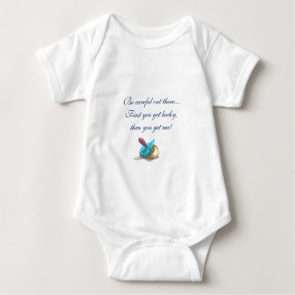 j0405392, Be careful out there... Baby Bodysuit
