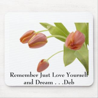 j0422449, recuerdan apenas el amor usted mismo y s mouse pad