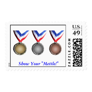 "j0433173, Show Your ""Mettle!"" Postage Stamps"