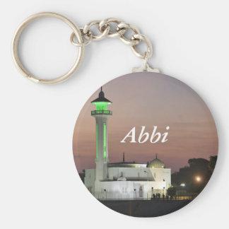 j0434113, Abbi Basic Round Button Keychain