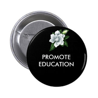 j0436878, PROMOTE EDUCATION 2 Inch Round Button