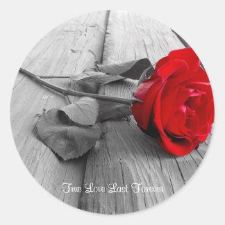j0440294, True Love Last Forever Classic Round Sticker