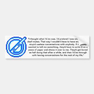 j0eg0d.design bumper sticker